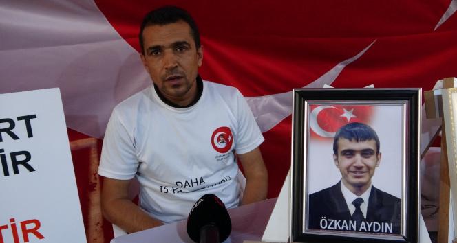 Evlat nöbeti tutan baba Aydın HDPli vekillere tepki gösterdi