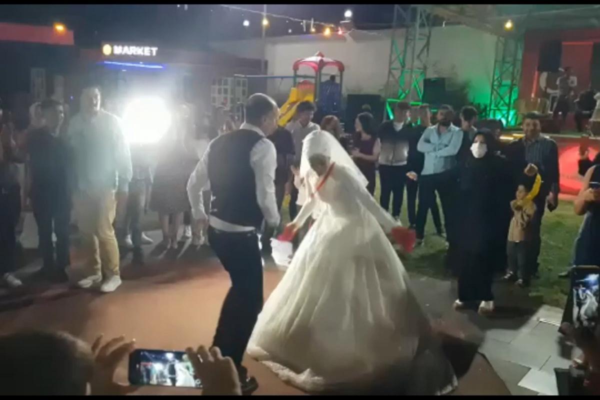 Etiyopyalı geline Türk usulü düğün