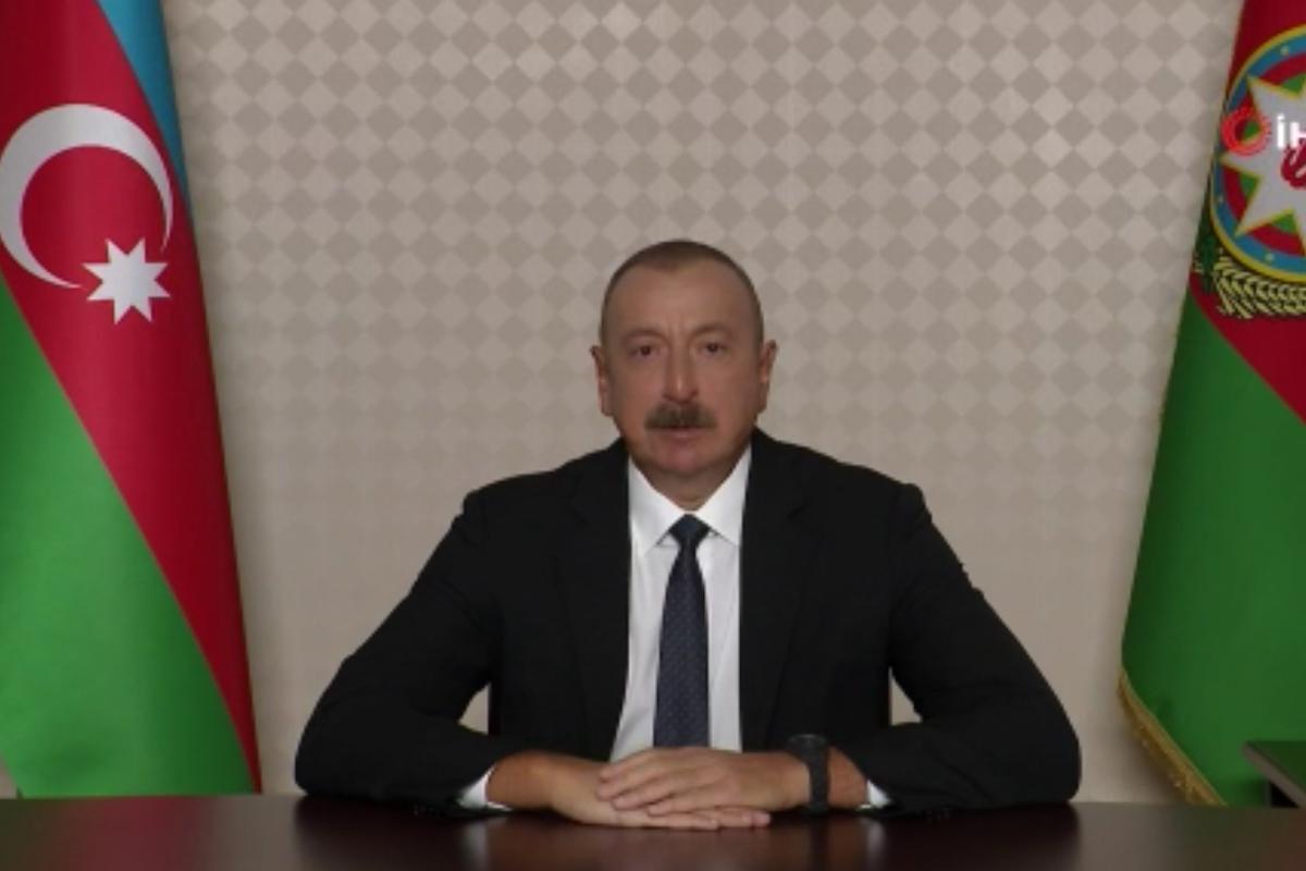 Azerbaycan Cumhurbaşkanı İlham Aliyev: 'Dağlık Karabağ ihtilafı tarihe gömüldü'
