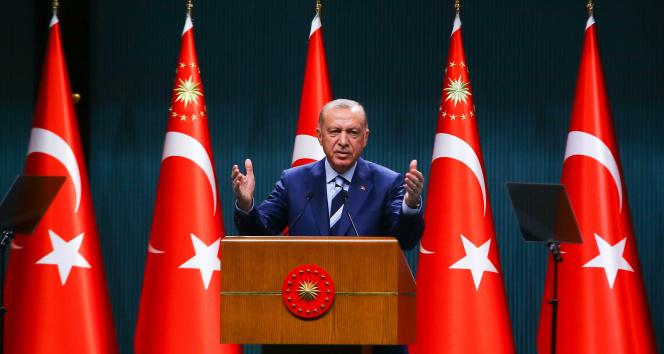 Cumhurbaşkanı Erdoğan: Park ve bahçelerde yatanların bir kısmının öğrencilikle alakası yok