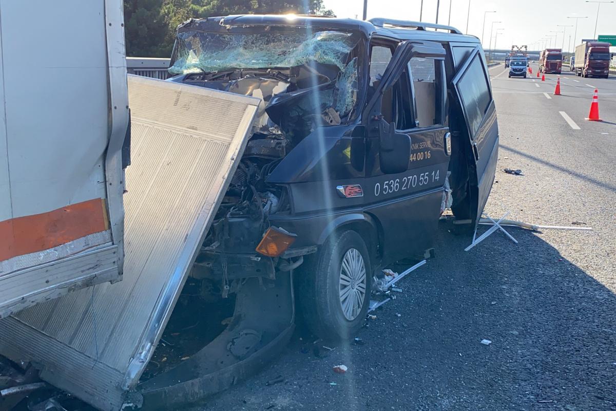 Kuzey Marmara Otoyolu'nda trafik kazası: 2 ağır yaralı