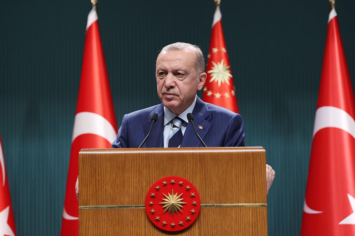 Cumhurbaşkanı Erdoğan, 'Küresel Kovid-19 Zirvesi'ne videomesaj gönderdi