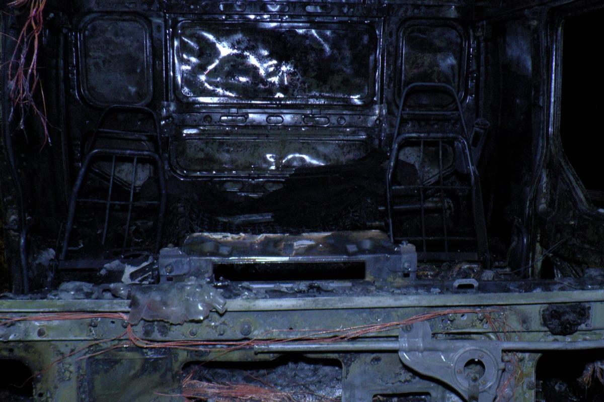 Kuzey Marmara Otoyolu'nda metal yüklü tır alev alev yandı