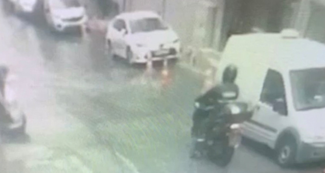 İstanbulda kargocuların kabusu motosikletli hırsızı 55 adet detayı yakalattı