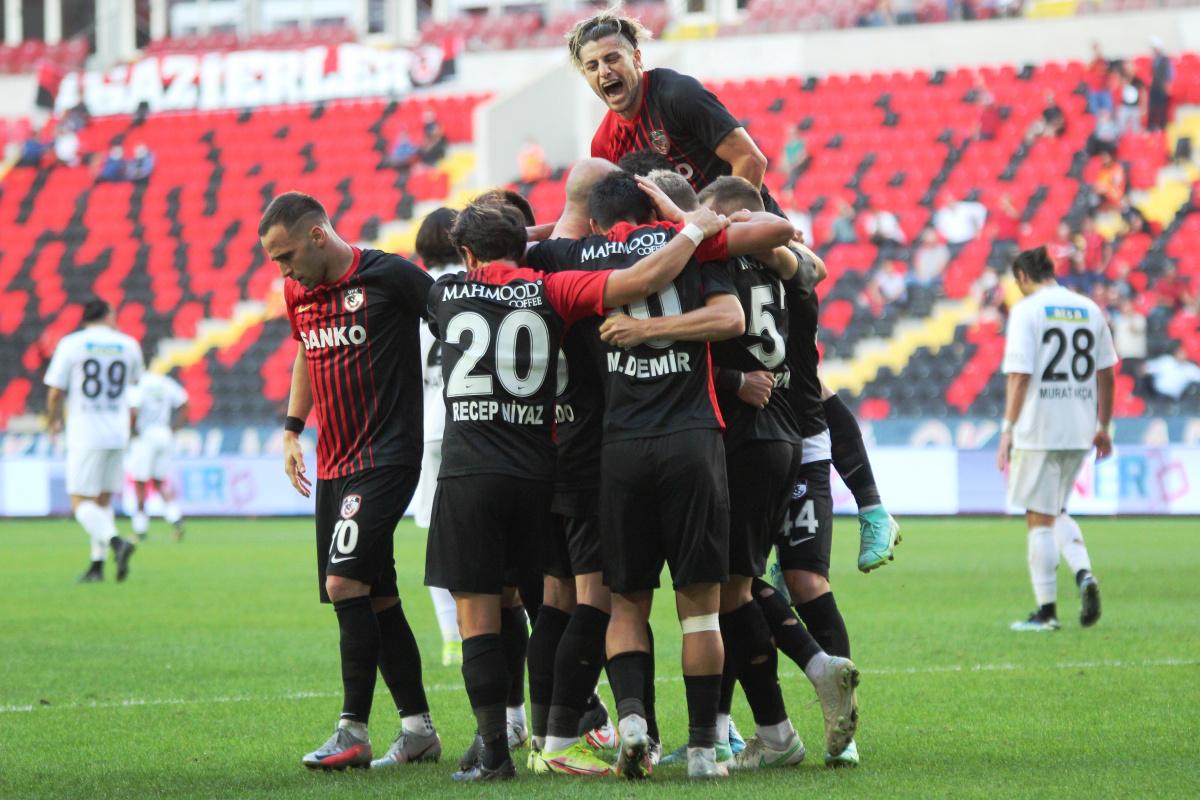 Gaziantep FK, Altay'ı gole boğdu