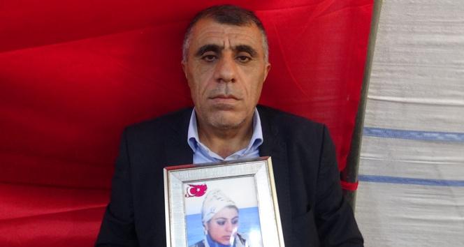 Evlat nöbetindeki acılı baba evladını PKKdan almakta kararlı