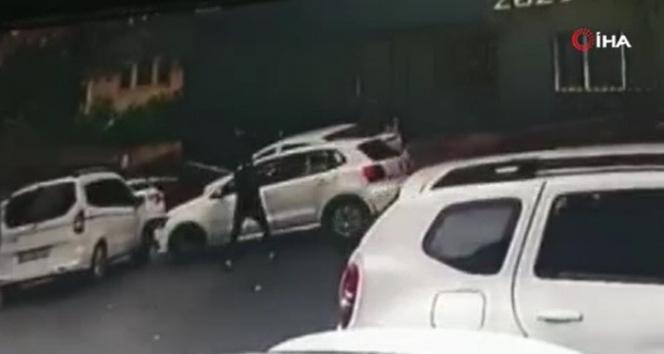 Şişlide trafik kavgasında aracıyla önünü kesip, kurşun yağdırdı