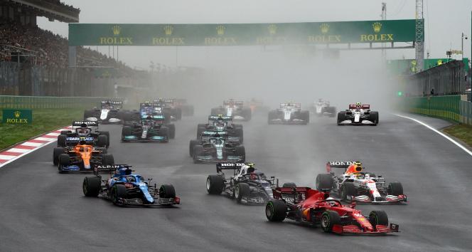 Formula 1 Türkiye Grand Prixinde start verildi