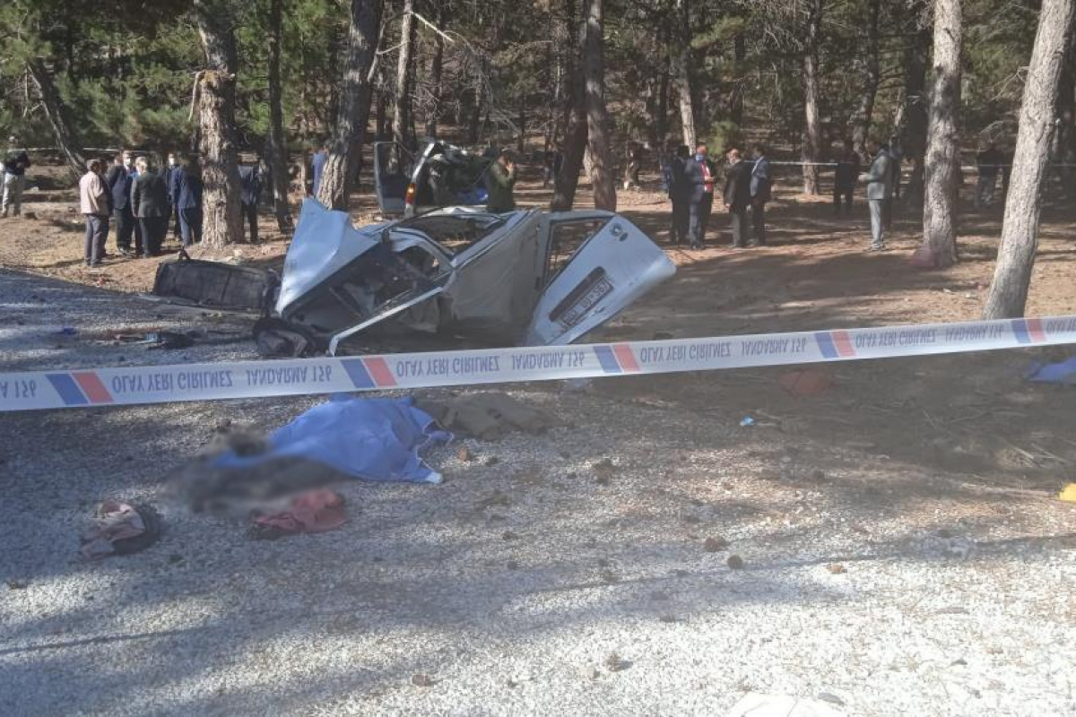 Afyonkarahisar'da feci kaza! 5 ölü