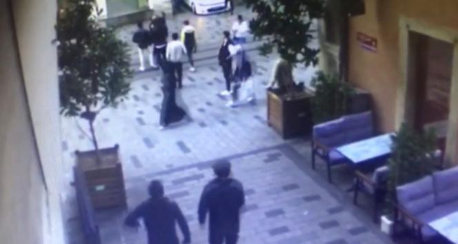 Taksimde ortalığı karıştıran silahlı kavga