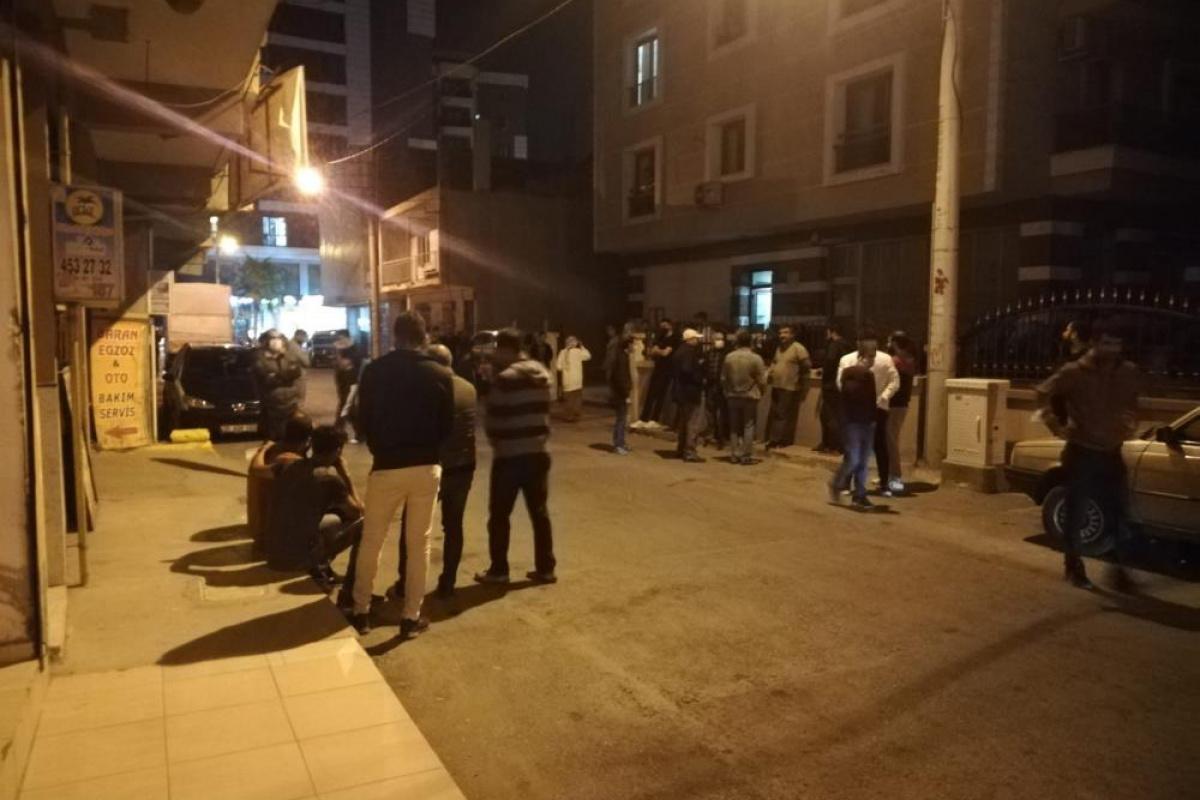 İzmir'de 20 günlük bebeği olan adamın öldürülmesiyle ilgili bir tutuklama