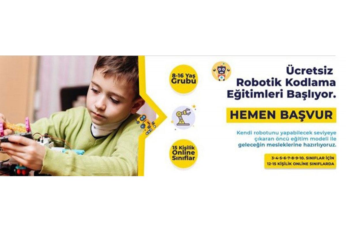 İhlas Vakfı'ndan Ücretsiz Robotik Kodlama Eğitimi