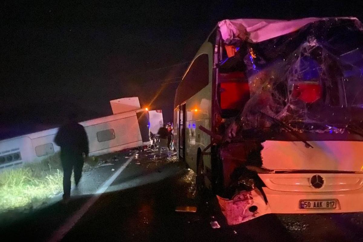 Nevşehir'deki kazada yaralı sayısı 40'a yükseldi