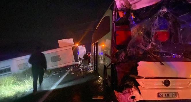 Nevşehirdeki kazada yaralı sayısı 40a yükseldi