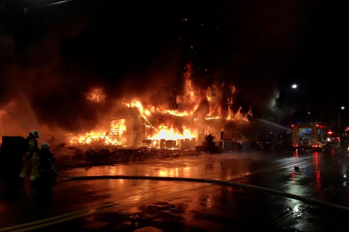 Tayvan'da 13 katlı binada yangın faciası: 46 ölü