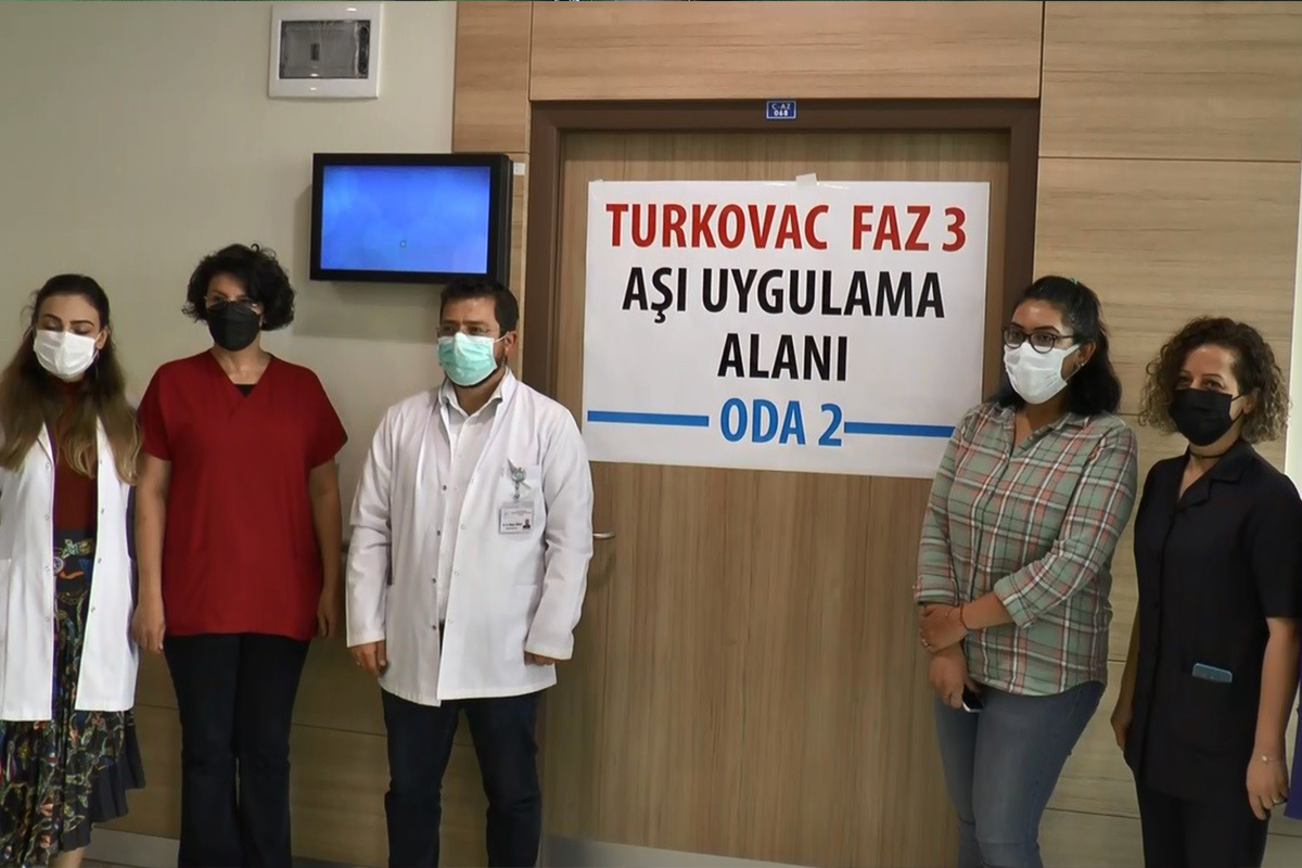 Erzurum'da yerli aşı Turkovac'ın Faz-3 çalışması başladı