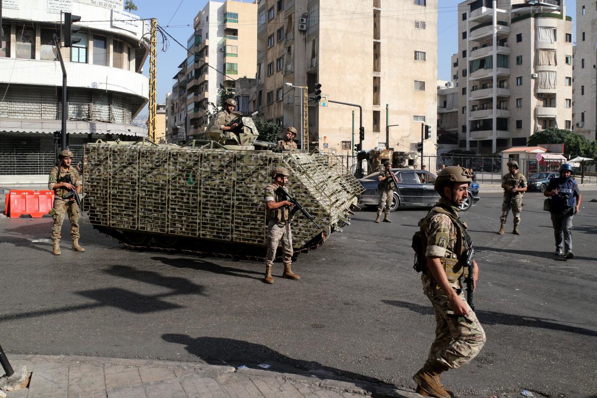 Lübnan'daki silahlı çatışmalarla ilgili 9 kişi gözaltına alındı