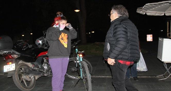 Antalya'ta tramvay yolununda kaza 1 yaralı