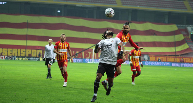 Beşiktaş Kayseri deplasmanından 3 puanla döndü