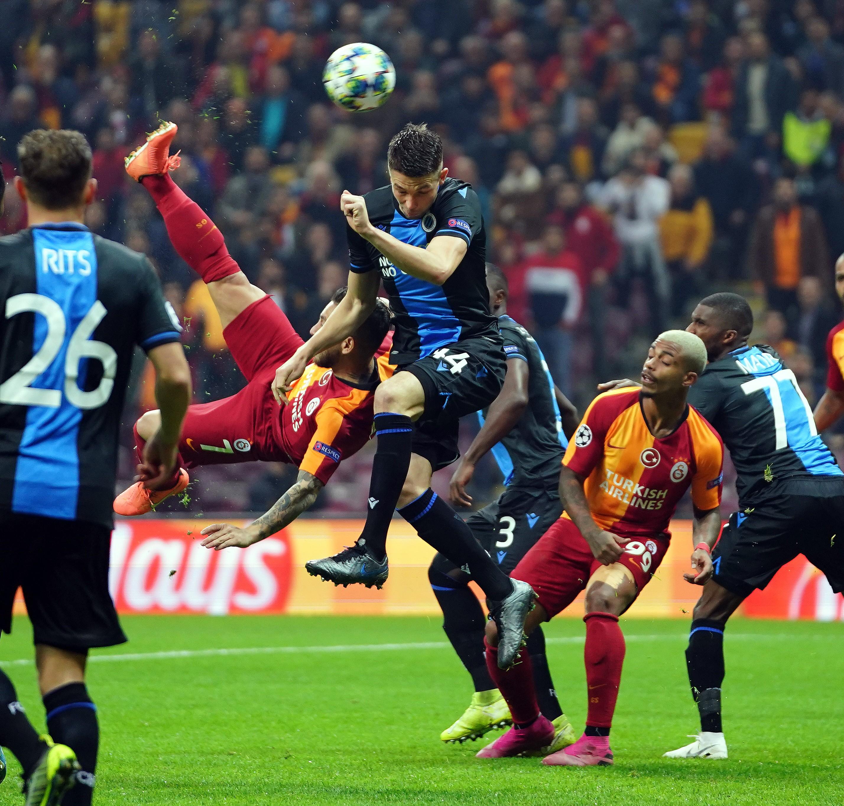 U00d6ZET U0130ZLE Galatasaray 1 1 Club Brugge Ma U00e7 U0131 U00d6zeti Ve