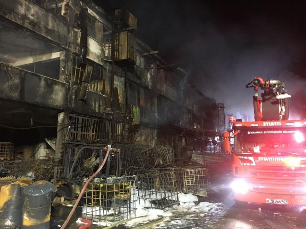 Başakşehir'de kimya fabrikasında çıkan yangın 8 saat sonra söndürüldü -  Gaziantep Haberler - Gaziantep Son Dakika Haberleri | Mega Haber 27