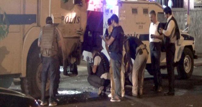 Diyarbakır'da polise roketli saldırı