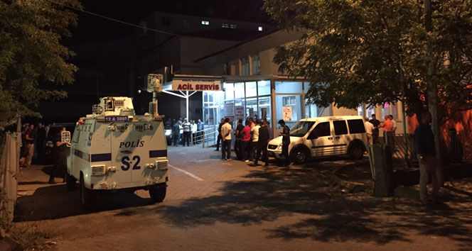 Bingöl'de polise hain pusu! 2'si polis 3 yaralı