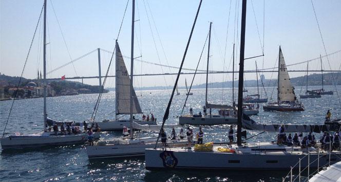 Deniz Kuvvetleri Kupası Yat Yarışları başladı
