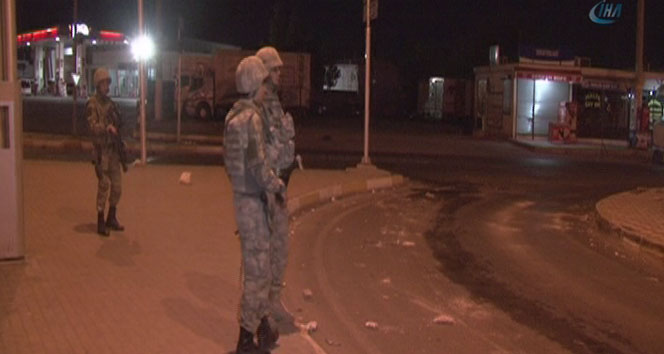 Diyarbakırda asker şehre indi
