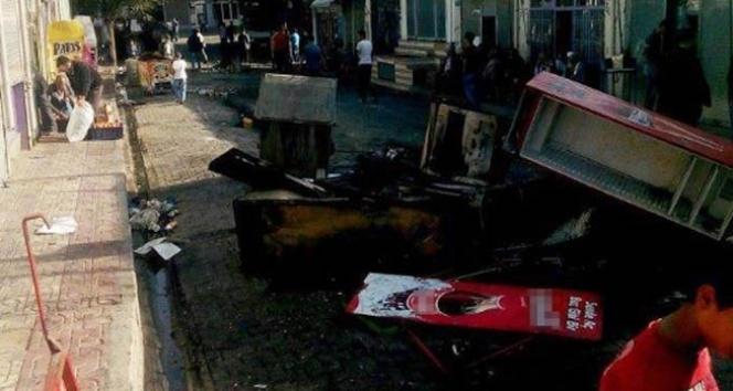 Cizre'de izinsiz yürüyüşe polis müdahalesi