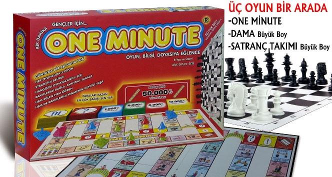 'One Minute' oyun oldu