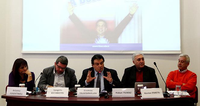 Syriza'nın zaferi bu panelde masaya yatırıldı