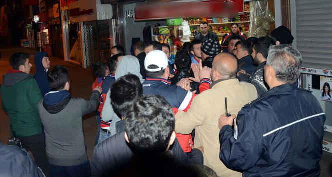 Zonguldak'ta HDP binasına saldırı